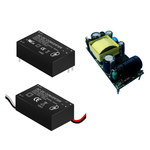 GA005/GB005/GC005 Series 5~6W 3KVac Isolation Regulated Output AC-DC Converter (Module)