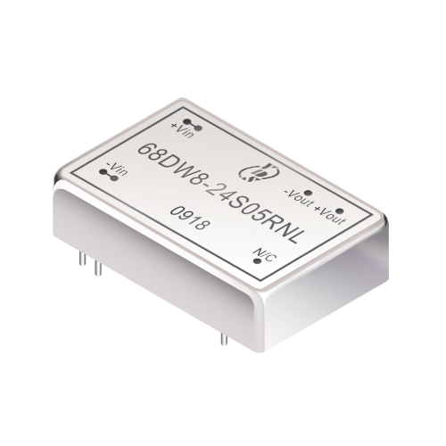 68DW8 Series 8W 1.6KV Isolation 4:1 DC-DC Converter