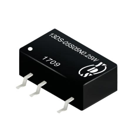 13DS-0.25W Series 0.25W 1KV Isolation SMD DC-DC Converter