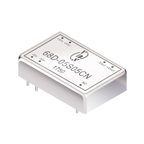68D Series 3W 1.5KV Isolation 2:1 DC-DC Converter