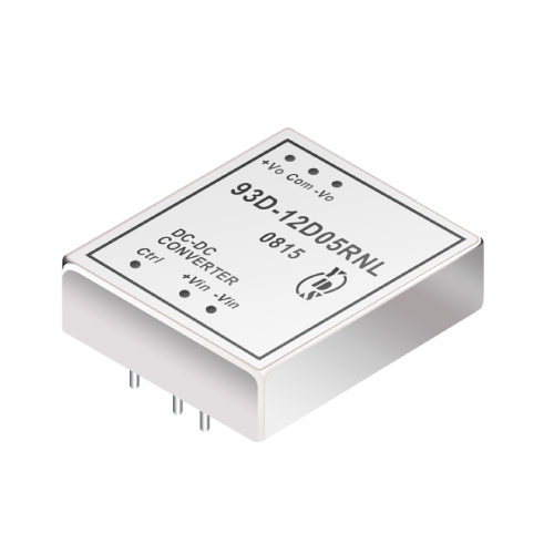 93D Series 60W 3KV Isolation 2:1 DC-DC Converter